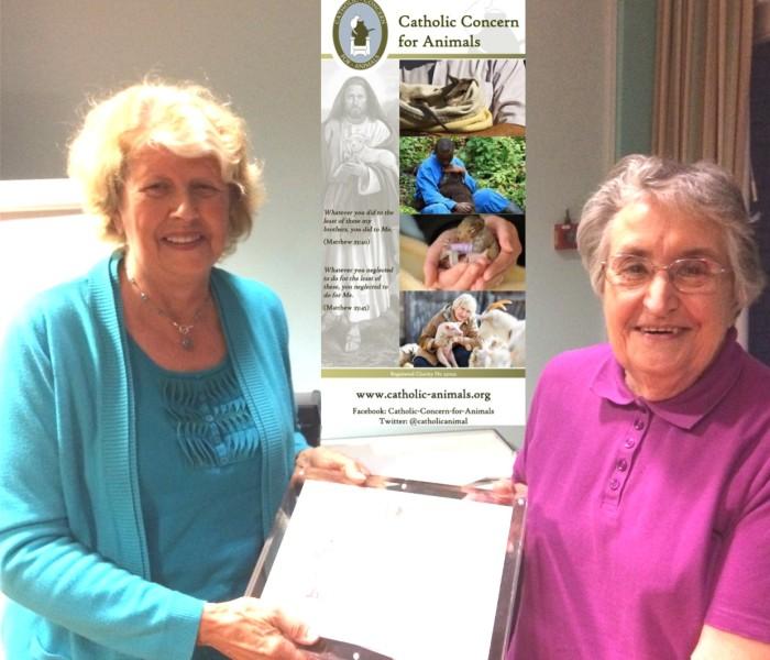 Joyce - St Francis Award 3