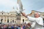Pope Francis & Dove