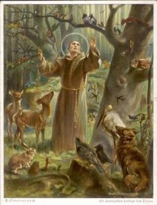 Saint-Francis-preaching-to-the-animals-Hans-Stubenrauch