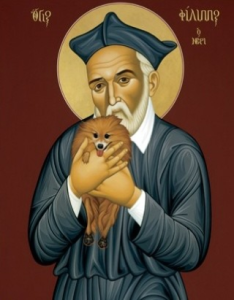 St Philip Neri and his Dog