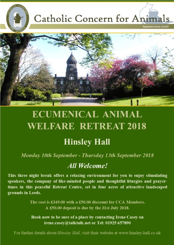 Retreat 2018 Advert